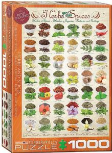 Herbs & Spices 1000 piece jigsaw puzzle  680mm x 490mm (pz)